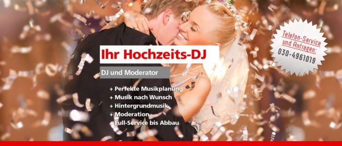 Hochzeits-DJ Berlin Brandenburg